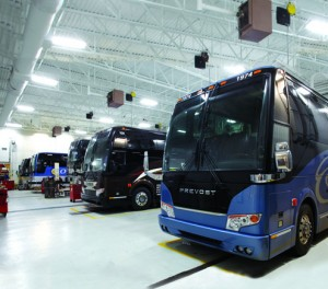Coach facility